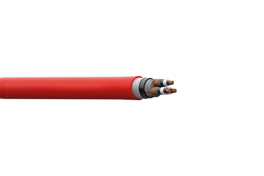 YXC8VZ3V-R,2XSEYFGY XLPE 3,6/6 kV -20,3/35 kV